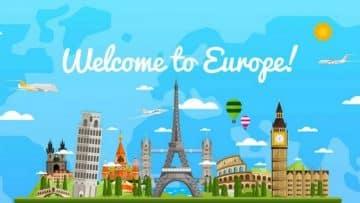 แลนด์มาร์คที่ยุโรป